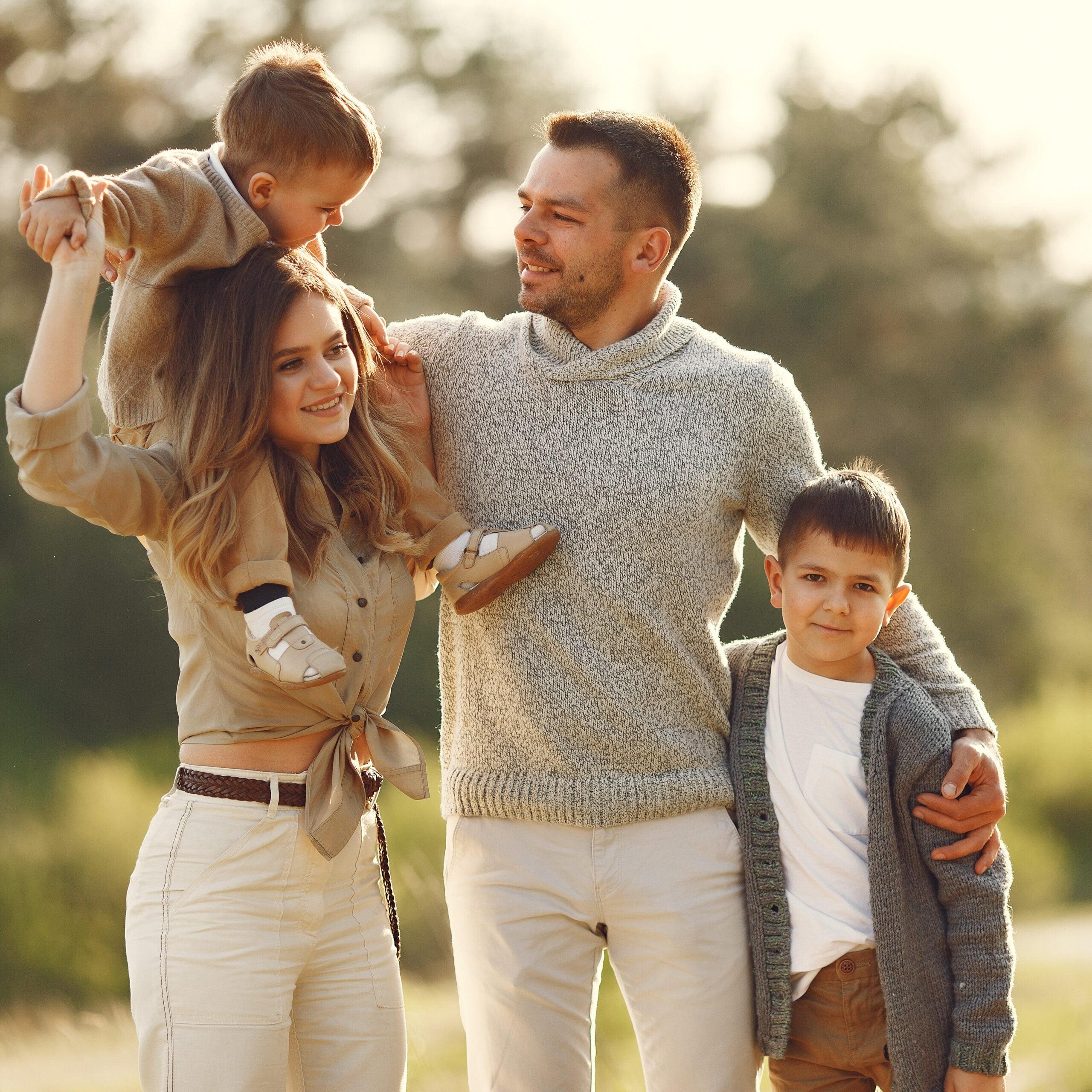 rodzina ubezpieczona na życie